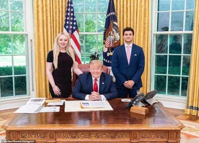 إبن ملياردير عربي يتزوج إبنة ترامب (صور)